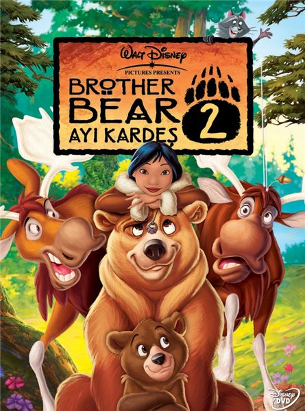 Братец медвежонок 2 / Brother Bear 2 (2006/DVDRip)