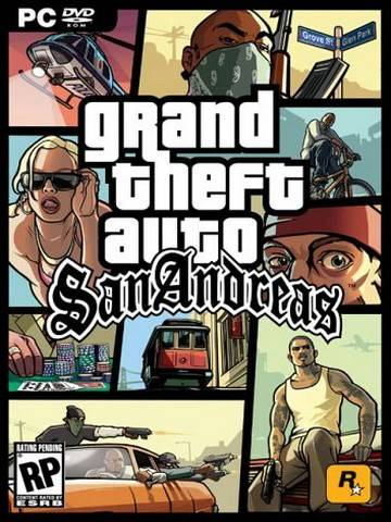 Grand Theft Auto: San Andreas [1.01] (2005/PC/Русский), RePack от West4it