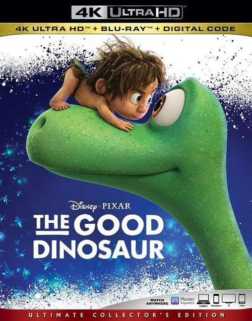 Хороший динозавр / The Good Dinosaur (2015/UHD BDRemux) 2160p