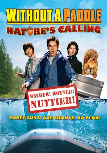 Трое в каноэ 2 Зов природы / Without a Paddle Nature's Calling (2009/HDDVDRip)