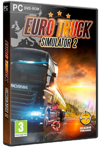 Euro Truck Simulator 2 [v 1.36.2.26s + 70 DLC] (2013) PC | Steam-Rip от =nemos=
