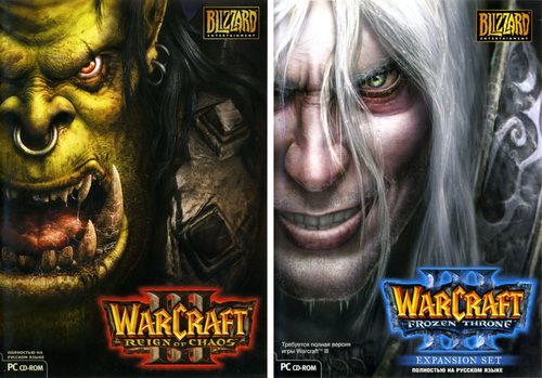 Warcraft 3 Reign of Chaos + The Frozen Throne [1.31.1] (2002-2003) PC | Repack