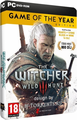Ведьмак 3 Дикая Охота / The Witcher 3 Wild Hunt - Game of the Year Edition [v 1.32 + 18 DLC] (2015/PC/Русский), RePack от =nemos=