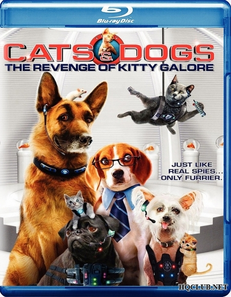 Кошки против собак Месть Китти Галор / Cats & Dogs The Revenge of Kitty Galore (2010/BDRip)