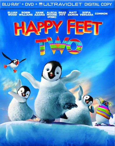 Делай ноги 2 / Happy Feet Two (2011/HDRip) | Лицензия