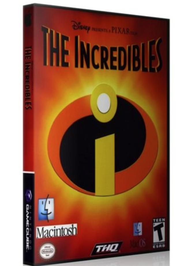 Суперсемейка / The Incredibles (2004/MAC/Русский)