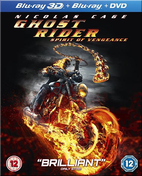 Призрачный гонщик 2 / Ghost Rider Spirit of Vengeance (2011/BDRip) | 720p