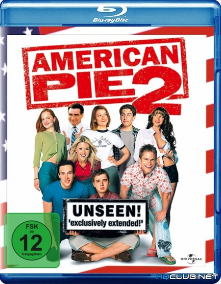 Американский Пирог 2 / American Pie 2 [Unrated] (2001/BDRip) | Лицензия