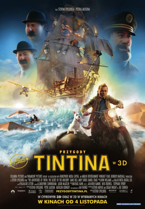 Приключения Тинтина Тайна Единорога / The Adventures of Tintin (2011/HDRip) | Лицензия