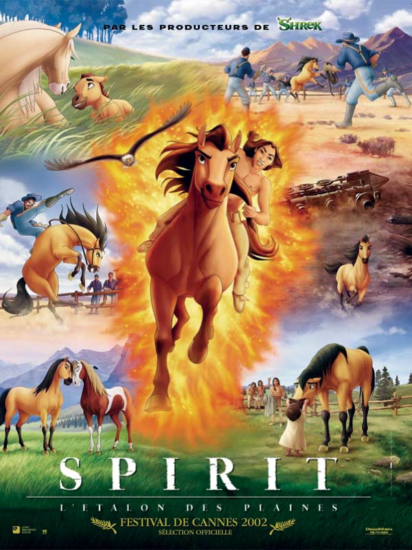 Спирит Душа прерий / Spirit Stallion of the Cimarron (2002/DVDRip)